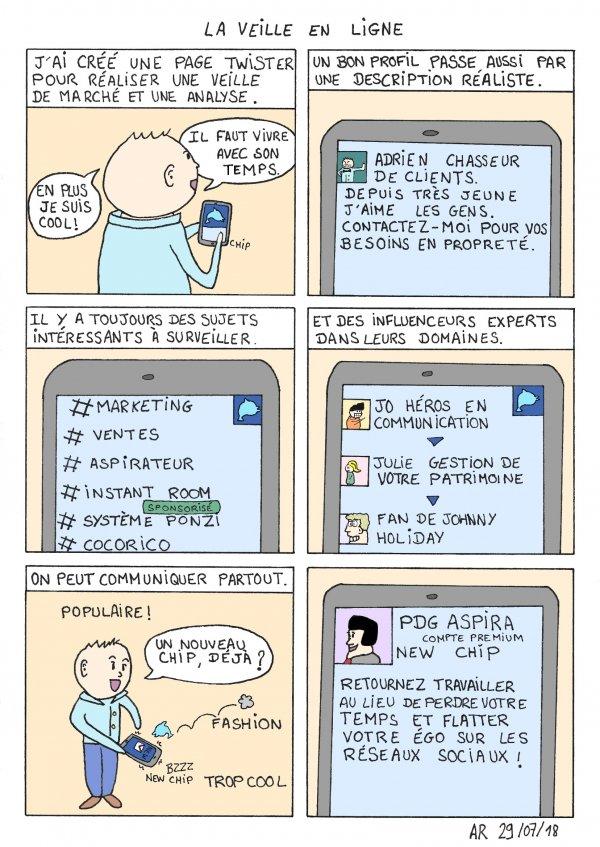 BD drôle - La veille en ligne - bande dessinée gratuite en ligne.