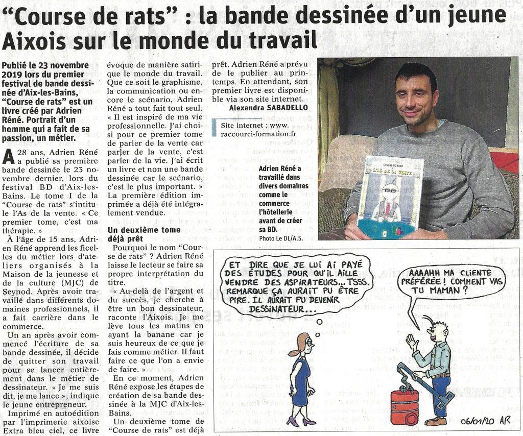 Le dauphiné - Une bande dessinée à Aix les bains