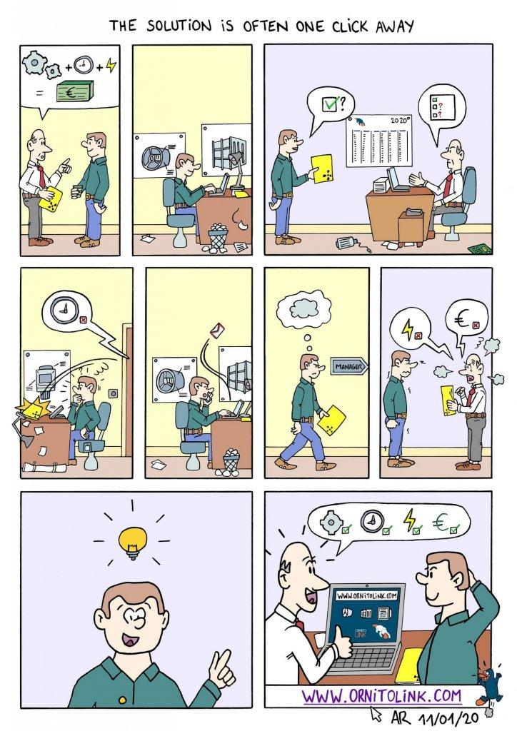 Exemple de BD personnalisée - Bande dessinée