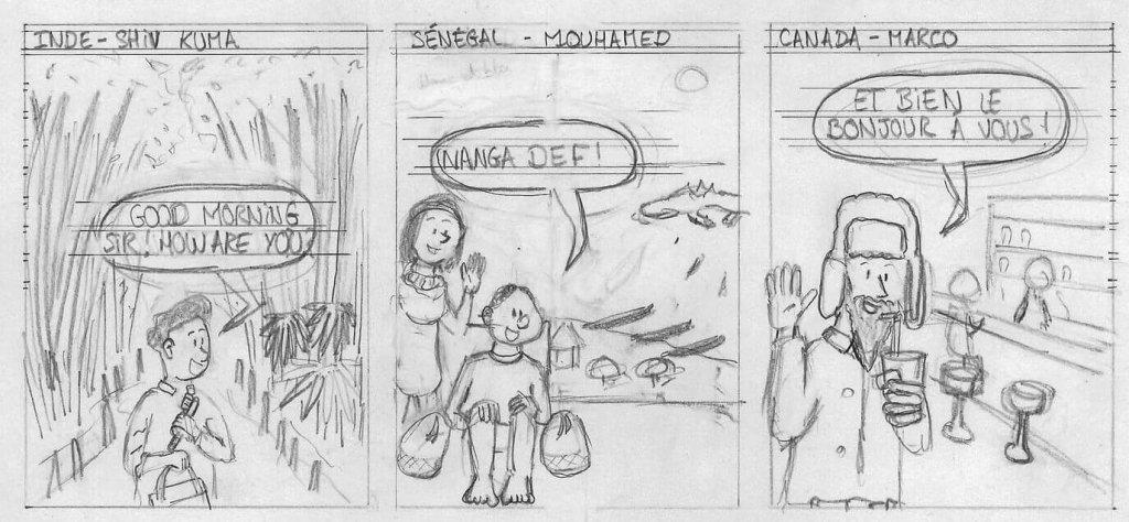 Créer une bande dessinée personnalisé - Dessin de BD