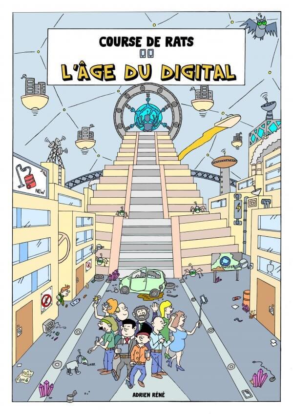 Course de rats bande dessinée l'âge du digital BD