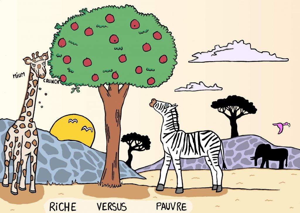 Image d'animaux - Dessin de la faune africaine.
