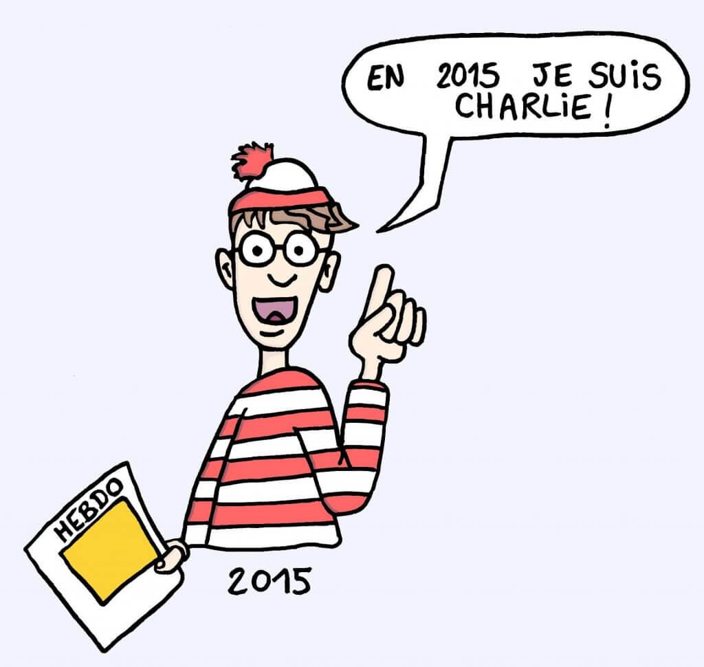 Image marrante de ou est Charlie ?