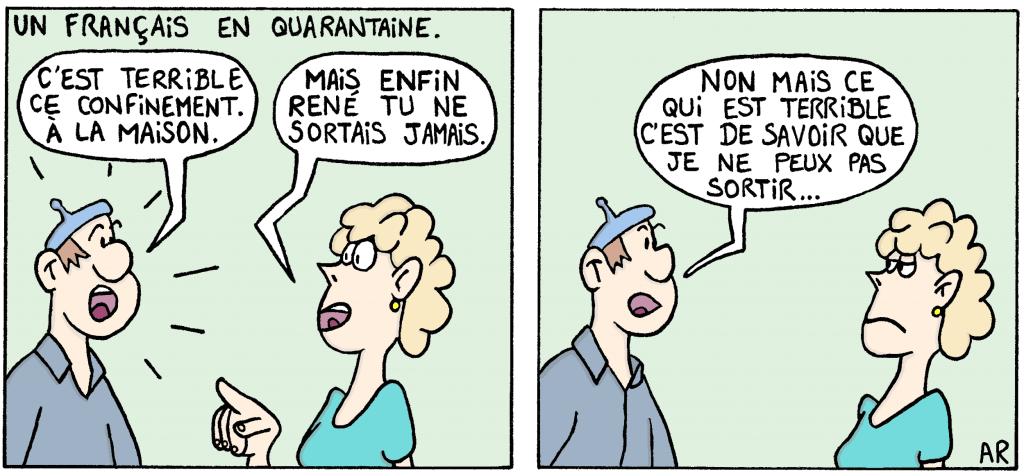 image humoristique sur le Coronavirus