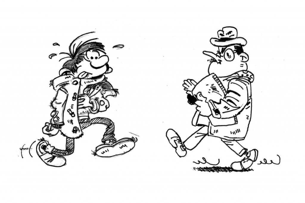 Dessiner Gaston le personnage de BD de Franquin