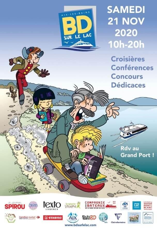 Festival de bande dessinée d'Aix les bains - BD sur le lac