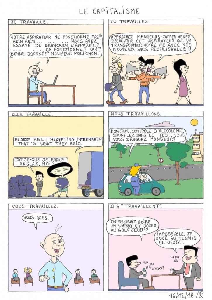 Bande dessinée sur le capitalisme - Web toon, bd en ligne