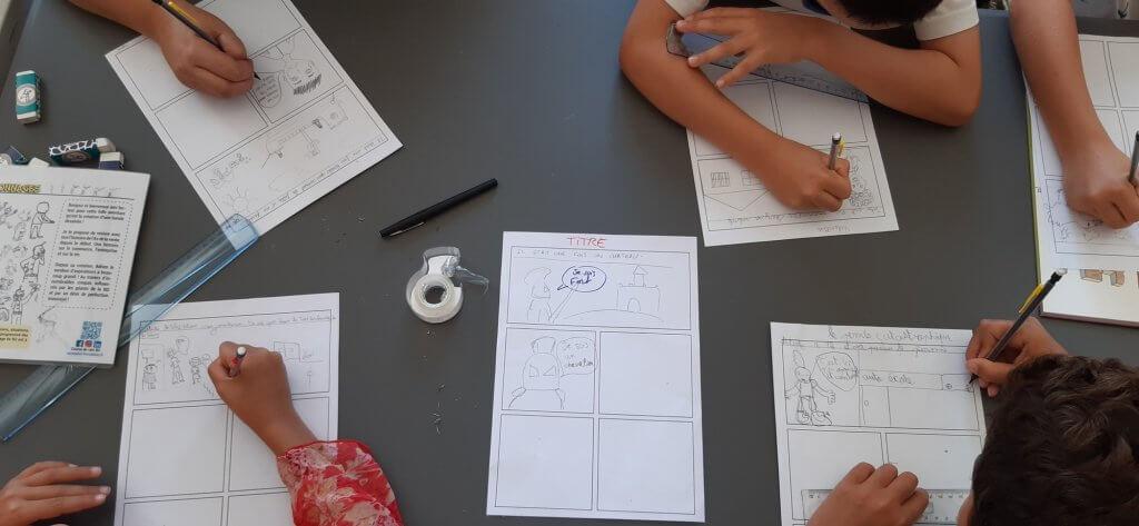 Atelier BD en Savoie - Cours de dessin