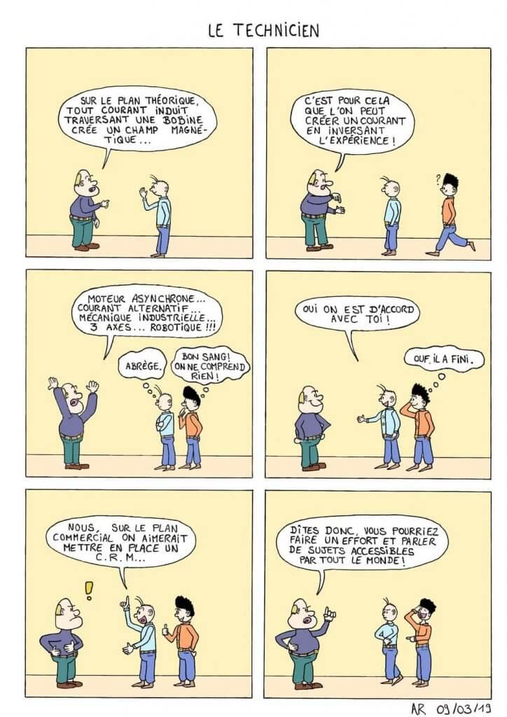 Bande dessinée drôle
