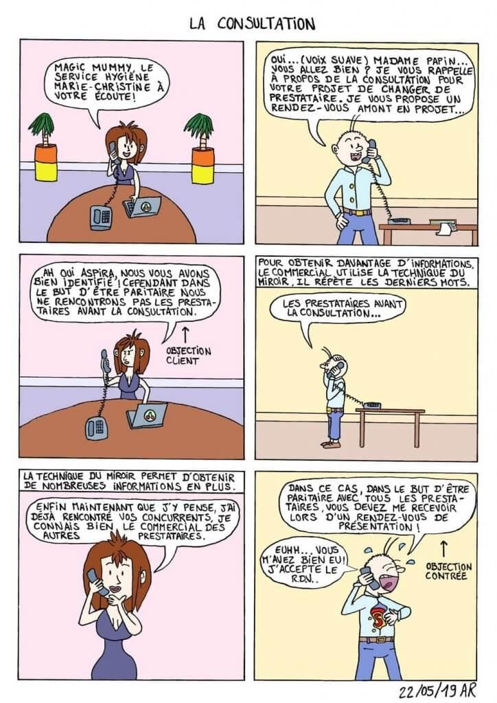 Web toon - Bande dessinée drôle - Rire