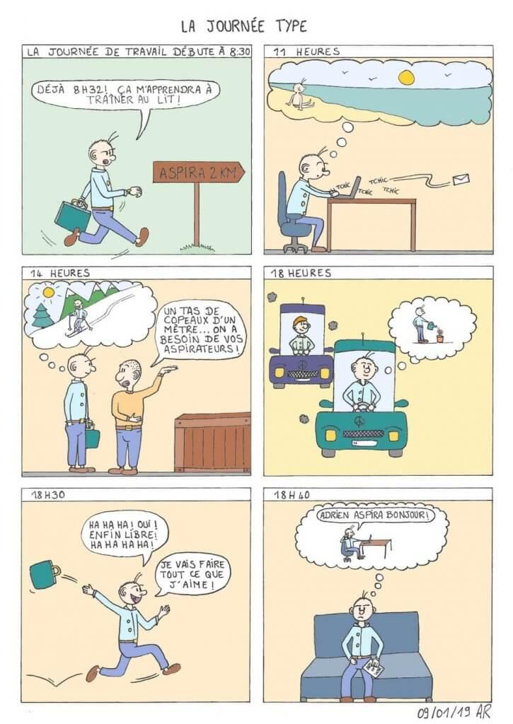 Web toon - Bande dessinée gratuite et humoristique