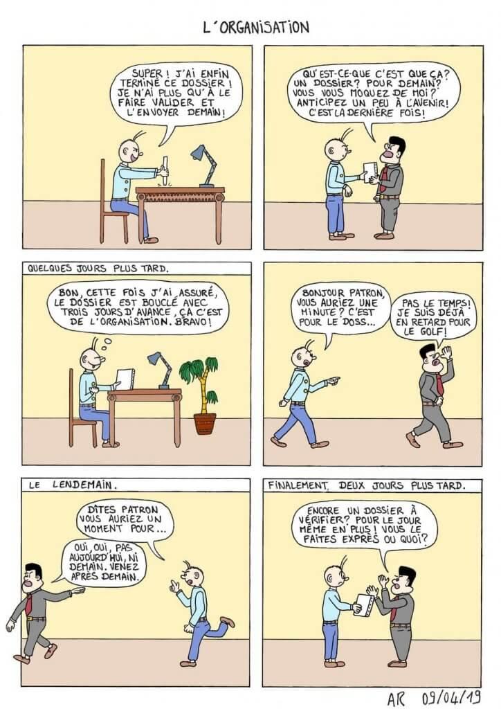 Bande dessinée d'humour