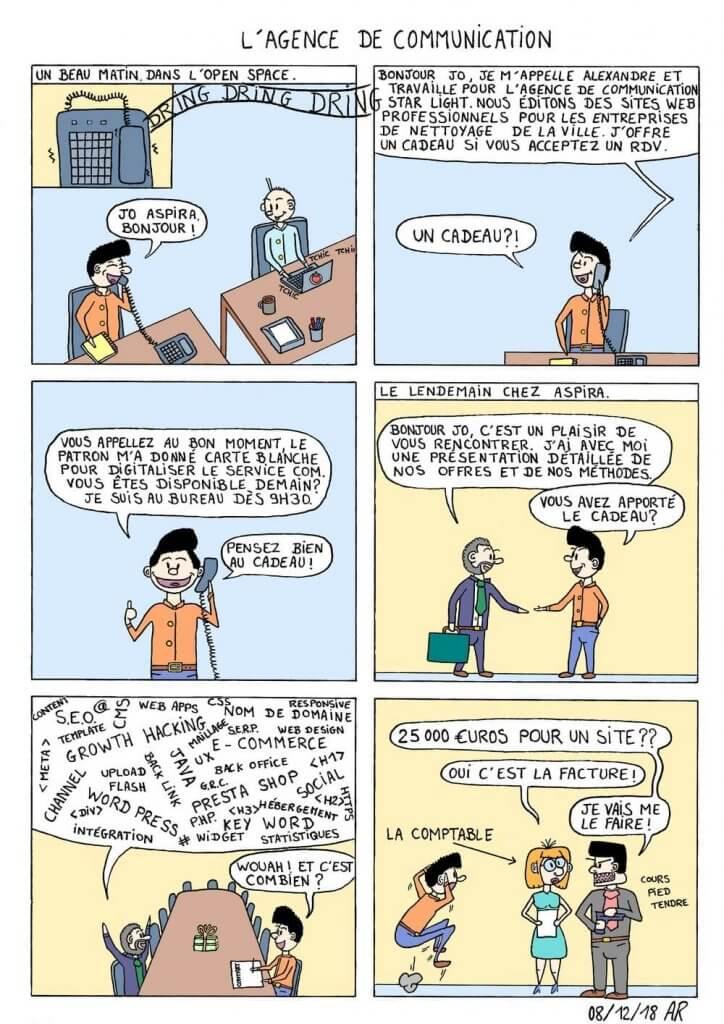 Bd en ligne gratuite comique