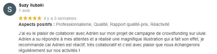 Adrien Réné - dessinateur de bande dessinée