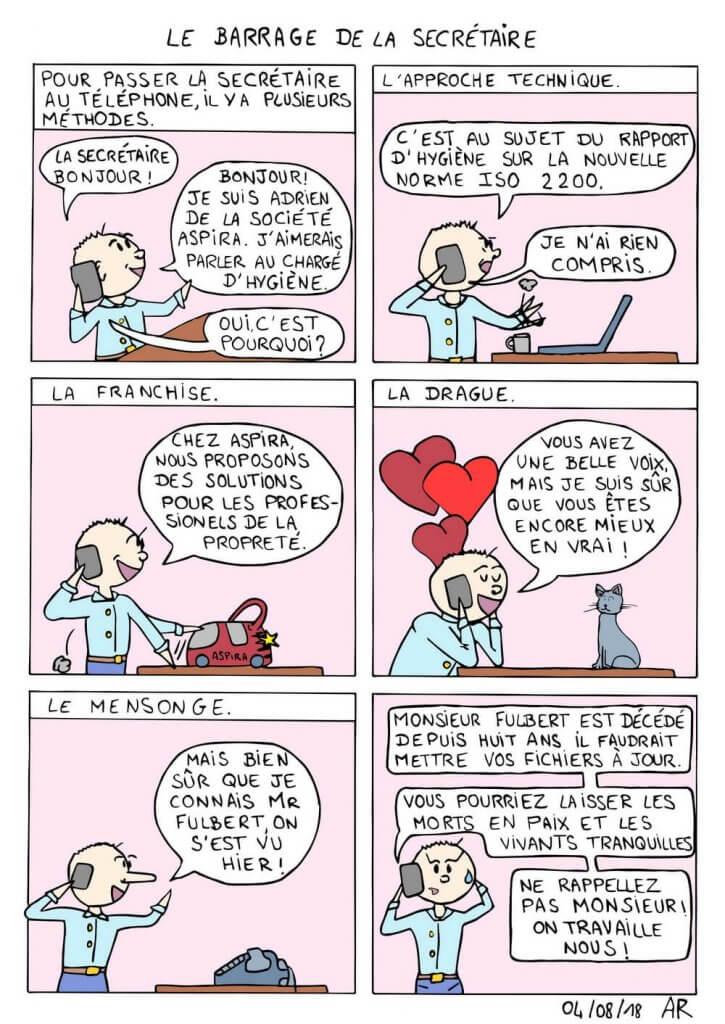Bande dessinée en ligne - Le barrage.