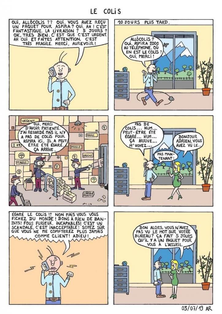 webtoon et bande dessinée