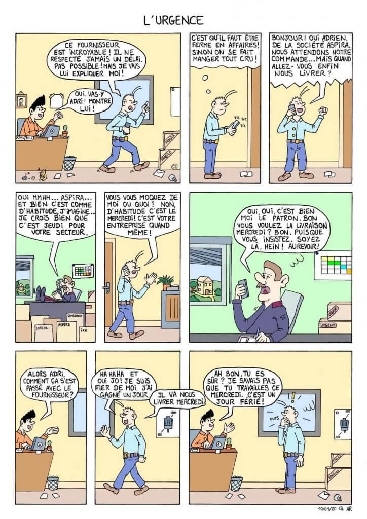 Web toon en ligne - web comic